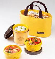 [Lock&Lock] HPL745Y Food Storage Container Round Small Lunch Box with bag Yellow