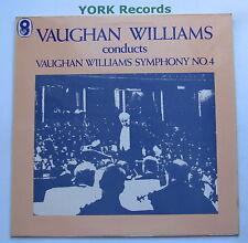 SH 128 - VAUGHAN WILLIAMS - Symphony No 4 BBC Symphony Orchestra - Ex LP Record