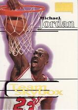 "MICHAEL JORDAN ( BULLS ) 1997-98 SKYBOX PREMIUM "" TEAM SKYBOX "" CARTE NBA"