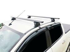 Alloy Roof Rack Cross Bar for Mazda BT-50 2011-20 135cm Black Lockable