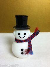 Avon SNOWMAN WINTER MOONWIND COLOGNE COLLECTIBLE FULL BOTTLE Vintage YK9