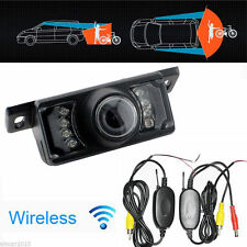 Wireless Car Reverse Rear View Backup Camera W/ Night Vision Waterproof Parking