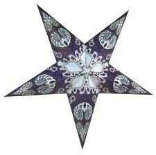 Blue Galaxy Star Lantern