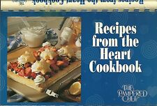 Recipes from the Heart Cookbook - The Pampered Chef 1997 U12