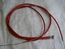 BRAKE CABLE RED SPARKLE BMX CRUISER FREESTYLE RACING BICYCLE NOS VINTAGE