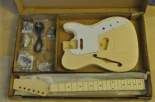 ELECTRIC GUITAR KIT TE 180. BASSWOOD BODY F HOLLOW, MAPLE NECK.