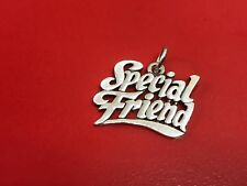 James Avery Sterling Silver Special Friend Charm
