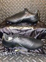 Nike Phantom Venom Elite FG Soccer Cleats Black/Volt AO7540-007 Men's Size 5