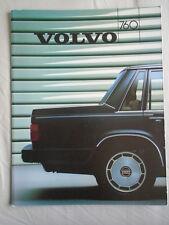 Volvo 760 range brochure 1986