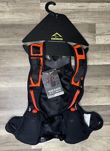 Nike Trail Running Kiger Vest Black/Orange Unisex- XL (NRL96041XL) - NWT