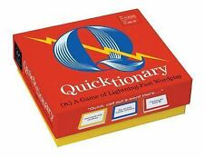 Quicktionary : A Fast-Paced Game of Witty Wordplay by Forrest-Pruzan Creative...