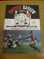 29/12/1990 Manchester United v Aston Villa  . Thanks for viewing our item, if th