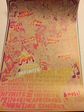 WonderCon 2017 Jem And The Holograms Infinite Concert 11X17 Poster Exclusive