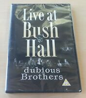DUBIOUS BROTHERS Live At Bush Hall rare 2015 UK out of print DVD SEALED