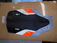 NOS FMF Black Orange White Seat Cover 1998-1999 KTM50 7250001
