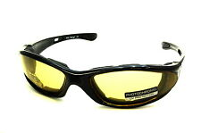 UV 9902 Motorcycle Glasses with Yellow Lens
