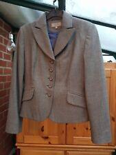 Smart Marks & Spencer Grey Mix Jacket, Standard Fit, Fully Lined, Size 12, VGC