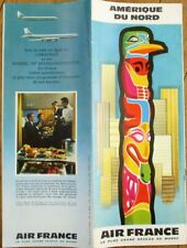 Air France 1959 Travel Brochure: Amerique du Nord / North America