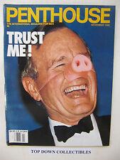 Penthouse Magazine  Nov.  1992   Alexis Christian  Pet Of The Month