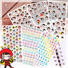 Good Morning Girl PVC Stickers Diary Day Planer Organizer Deco6 Sheets