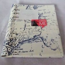 Filofax - A5 Clipbook Retro Map - Leather Look Organiser