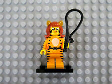 LEGO Monsters Minifigure Series 14 Tiger Woman Girl 71010, New Sealed, Whip