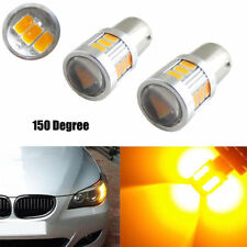 1pair Canbus Amber Yellow 18-SMD BAU15S 7507 LED Car Turn Signal Lights Bulbs