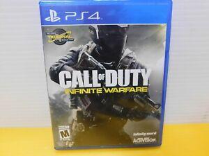 3 PS4 GAMES - God of War, NBA2K18, Call of Duty Infinite Warfare