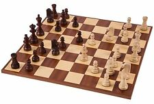 SQUARE - Pro Wooden Chess Set No. 6 - EUROPE - Chessboard & Chess Pieces