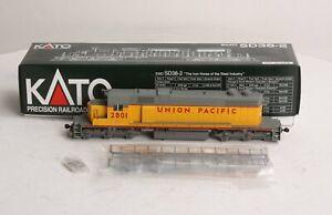 Kato 37-6501 Union Pacific EMD SD38-2 Diesel Locomotive #2801 LN/Box