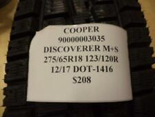 2 COOPER DISCOVREER M+S 275 65 18 123/120R BRAND NEW TIRES 90000003035 Q8