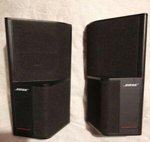 Bose acoustimass SE=5 Satellite Speakers, Surround Sound, Bose cube, bose jewel