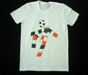 Italia 90 Ciao Football World Cup 90s Retro White T-Shirt Size S-XXXL Soccer NEW