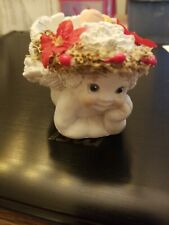 Dreamsicles figurine collectable, small cherub candle holder.