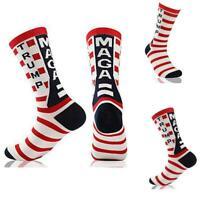 REPUBLICAN DONALD TRUMP, SOCKS American Flag, MAGA, Keep America Great Agai D4E4