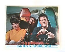 Elvis Presley • Easy Come Easy Go • Authentic 1967 Theater Lobby Card • RARE!