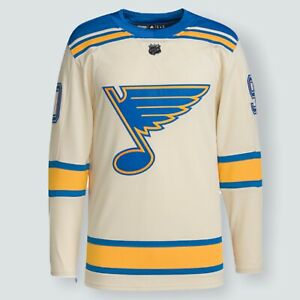 Ryan O'Reilly St. Louis Blues adidas 2022 Winter Classic Authentic Jersey Sz 50
