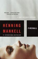 Firewall (Kurt Wallander Mysteries, No. 8) - Acceptable - Mankell, Henning - Pap