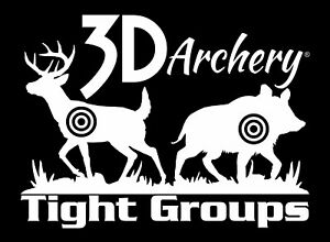 3D Archery Brand Window Decal Sticker,bowhunting sticker,bowhunter,Target,bow