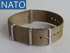 BRACELET MONTRE NATO 18mm khaki chronograph military orologio militare reloj