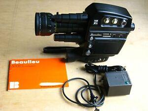 Beaulieu 5008S MultiSpeed Camera w/Schneider 6-70MM f/1.4 Zoom Lens w/Booklet