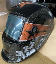 Zrtd New Solar Auto Darkening Welding Helmet Arc Tig Mig Certified Mask Grinding