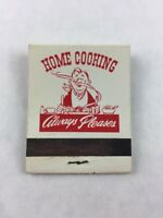 Vintage 5th Wheel Cafe Idaho Matchbook Only No Matches