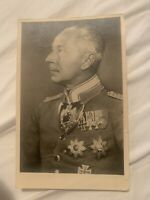 Wilhelm von Preußen - Original signiert - Postkarte Kronprinz