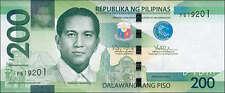 Philippinen/ Philippines 200 Piso 2010 Pick 209a (1)