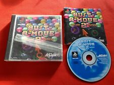 BUST A MOVE 2 ARCADE EDITION PS1 PLAYSTATION 1 SONY PAL VF COMPLET
