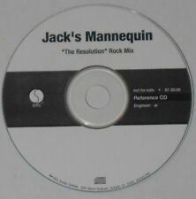 Jack's Mannequin  The Resolution rock mix  U.S. promo cd