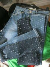 LTD Edt - Diamante Topshop JAMIE Jeans Mid Wash Blue UK 10 30 leg WORN ONCE ASOS