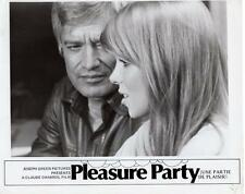 "Paul Gégauff/ Paula Moore ""Pleasure Party""  1975 Vintage Still"