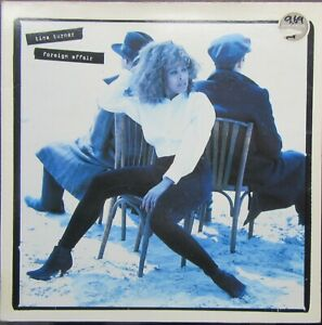 TINA TURNER FOREIGN AFFAIR LP Inner Sleeve Capitol 1989 Excellent